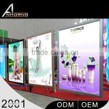 Highest Quality High Bright Waterproof Energy Saving A0\A1\A2\A3\A4 Acrylic Ultra-Thin Light Box For Advertising Display                                                                         Quality Choice