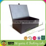 Custom high quality leather box for shoe packing