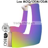 (Trade Assurance)custom colourful sport compression polyester arm sleeve
