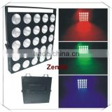 dmx stage blinder light 5*5 dj bar and disco led matrix dmx led blinder