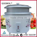 small drum rice cooker with double inner pots drum rice cooker with two bowls