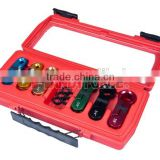 6pcs Fuel & Air Conditioning Line Disconnect Set, Air Conditional Service Tools of Auto Repair Tools
