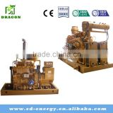 CE approved natural gas generator 1MW power plant for generating electric fuel LNG LPG CNG