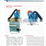 Shot blasting Machine for the steel plate