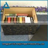 customized fake book storage book shape storage box