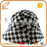 Wholesale plaid cotton child fishing bucket hats cheap terry towel bucket hat                                                                                                         Supplier's Choice