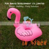 cheap flamingo\duck cup holder pvc custom pool float