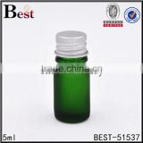 5ml pharmaceutical vial serum glass vial mini glass bottle with metel screw cap                                                                                                         Supplier's Choice