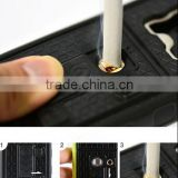 Cigarette Lighter Smoke Hard Cover Case for iphone 6 Hybrid Fire phone Cases With Bottle Opener Ring
