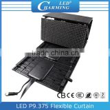 Outdoor Rental Stage Mesh Flexible LED Curtain Display Screen P9.375/P12.5/P18.75