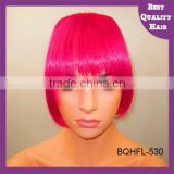 New fashion brazilian hair clip in human hair bangs fringe