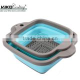Kitchen Storage Collapsible Square Fruit Vegetable Basket Strainer                                                                         Quality Choice