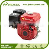 Phonex 168F Gasoline Engine Vertical Shaft 5.5HP Gasoline Engine GX160 Small Petrol Engine for Sale