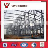 Strong steel structure two story building