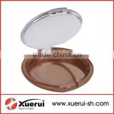 Empty compact powder container, cosmetic container