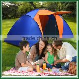 2 Room 6 Person Waterproof Outdoor Camping Tent Hiking Camping Portable Family Tent