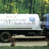 Top Product LPG Road Tanker