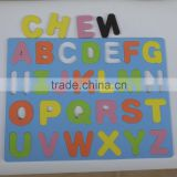 Custom made Magnetic eva foam alphabet puzzle, magnetic English Letters, educational puzzle for kids