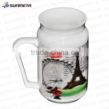 2016 freesub sublimation mug factory, new design special shape sublimation coffe mug