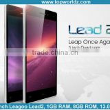 New 5.0 inch QHD screen Android 4.4.2 MTK6582 Quad core 1.3Ghz 8GB 13.0MP camera unlocked Leagoo Lead 2
