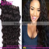 Free Shipping 3 Bundles 7a Wholesale Indian Hair Weave Water Wave 100% Virgin Indian Hair Weaving