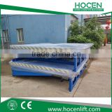 Nice Price Between Truck And Warehouse Bridge Electric Lift Table Hydraulic Dock Unloading Ramps For Forklift