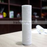 "10 "" PP filter element PP water treatment filter element PP big groove water treatment filter element"