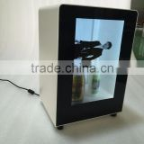 10inch New digital signage lcd transparent display box for product show lcd tv showcase