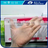 Disposable colored Vinyl exam gloves competitive price pvc glove medical exam vinyl glove