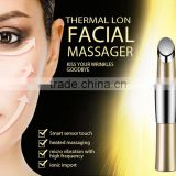 Wholesale beauty supply distributors face lift machine for sale thermal vibrating facial massager used with anti wrinkle cream