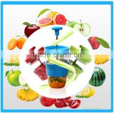 Juice Cup In Water Bottle ,Manual Fruit Juicer Cup, Juicer Blender Cup ,Juice Presser Water Bottle