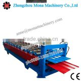 Classical corrugated glazed tile aluminum roof steel sheet rolling forming machine/cold machinery(hot sale)