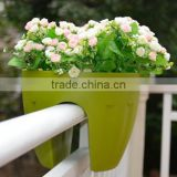 OEM design! Cheap garden planters and pots, wall hanging flower pots, Plastic garden planters and pots < SG1521>