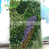SJLJ013775 artificial plant for wall decoration fake foliage plant artificial green wall