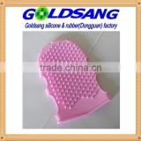 High quality silicone Massage gloves cosmetic tools