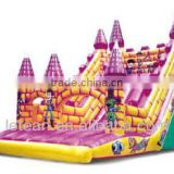 LT-2132C small titanic castle inflatable slide