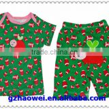 kid clothes 100% cotton children clothing set,Spring kids clothing child tshirt short trousers