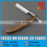 """GOLD DOLLAR W55""wooden barber straight razor shaving razor"