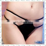 double strings g-string underwear black sexy ladies thongs panties