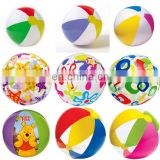 ICTI Approved SGS EN71 and 6P PVC Material Promotion Beach and Pool Toys inflatable transparent beach ball