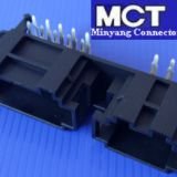 16 pin seat pcb connector MY-PCB-6+10AW header connector