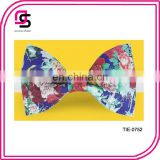 2014 Floral Bow Tie Fashion Bow Tie Colorful Bow Tie