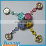 Promotional Items Alloy FOB Nurse Watch with Smile Face