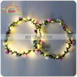 New Colorful handmade Flower garland string lights for wedding