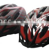 reflective bicyle helmet
