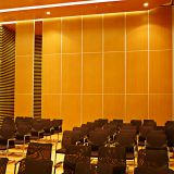 Commercial Acoustic Sliding Wooden Board Malaysia Best Price of Folding Partition Wall