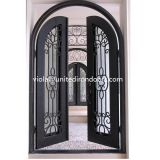 #001 Luxury Custom Wrought Iron Door