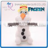 Mini Qute new hot 20 cm Kawaii cartoon stuffed plush Frozen doll princess anna & elsa Straw hat olaf girl kids children gift toy