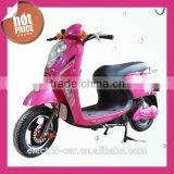 Chinese factory wholesale sales, fashion low cost high quality lady electric mini motorcycles