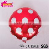 18 inch foil balloon polka dots round for party decorations                                                                                                         Supplier's Choice